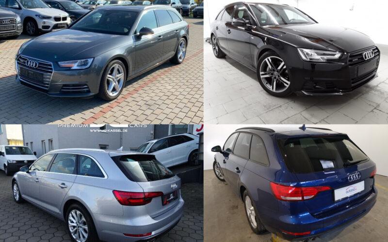 Ищем Audi A4 B9 quattro универсал в Германии