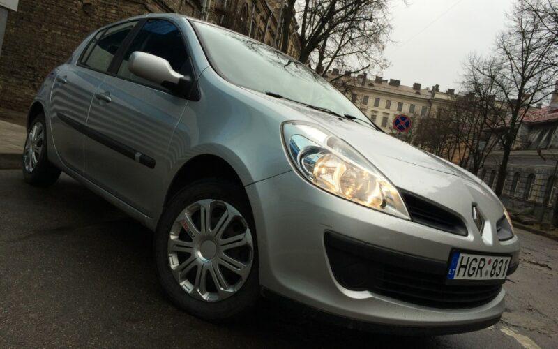 Renault Clio (Рено Клио) 3 — личный отзыв, прокатный тест-драйв, много фото