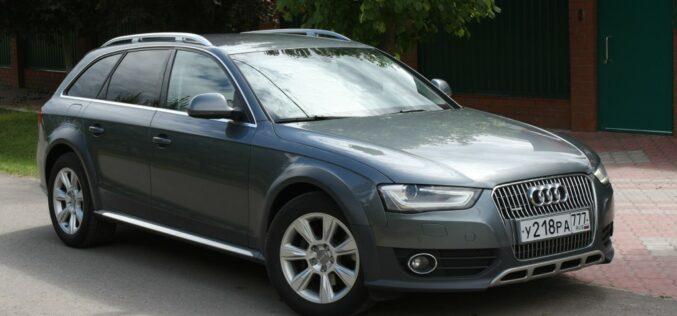 Audi A4 Allroad B8 рестайлинг 2012