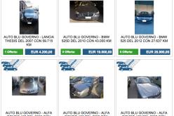 Машины мин. обороны Италии на eBay